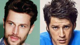 Yüz Şekline Göre Saç Kesim Modelleri / Stilleri  Erkek
